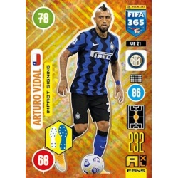 Arturo Vidal Impact Signing Inter Milan UE21