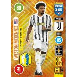 Weston McKennie Impact Signing Juventus UE23