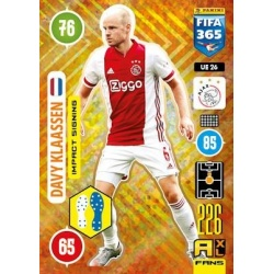 Davy Klaassen Impact Signing Ajax UE26