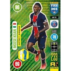 Moise Kean Impact Signing Paris Saint-Germain UE33