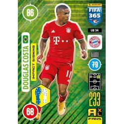 Douglas Costa Impact Signing Bayern Munchen UE34