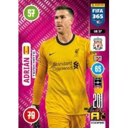 Adrián Team Mate Liverpool UE37