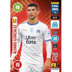Álvaro González Team Mate Olympique Marseille UE47