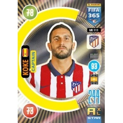 Koke Captain Atletico Madrid UE111