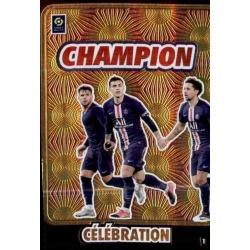 Champion de France 2020 Celebration 1