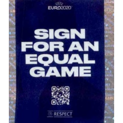 Sign for an Equal Game - Respect 5