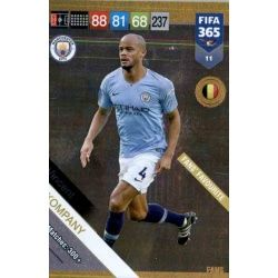 Vincent Kompany Fans Favourite 11 FIFA 365 Adrenalyn XL