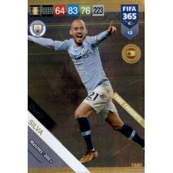 David Silva Fans Favourite 12 FIFA 365 Adrenalyn XL