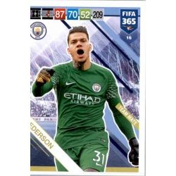 Ederson Manchester City 16 FIFA 365 Adrenalyn XL