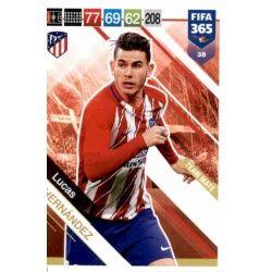Lucas Hernández Atlético Madrid 38