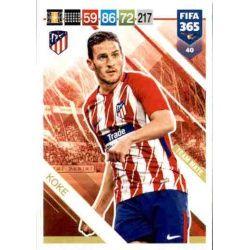 Koke Atlético Madrid 40