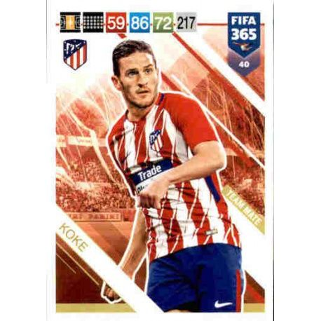 Koke Limited Edition Fifa 365 Cards 2019