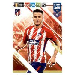 Saúl Atlético Madrid 42