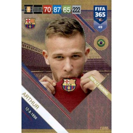 FIFA 365 cards 2019-49-Arthur-IMPACT SIGNING
