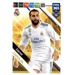Daniel Carvajal Real Madrid 72FIFA 365 Adrenalyn XL