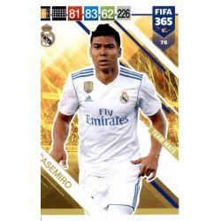 Casemiro Real Madrid 76 FIFA 365 Adrenalyn XL
