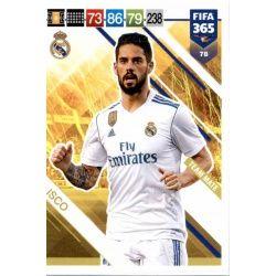 Isco Real Madrid 78 FIFA 365 Adrenalyn XL