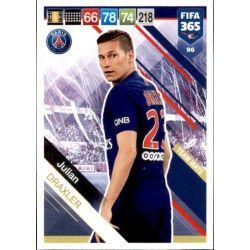 Julian Draxler PSG 96 FIFA 365 Adrenalyn XL