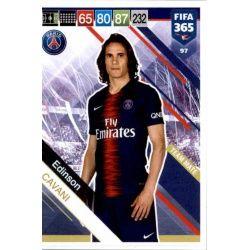 Edinson Cavani PSG 97 FIFA 365 Adrenalyn XL