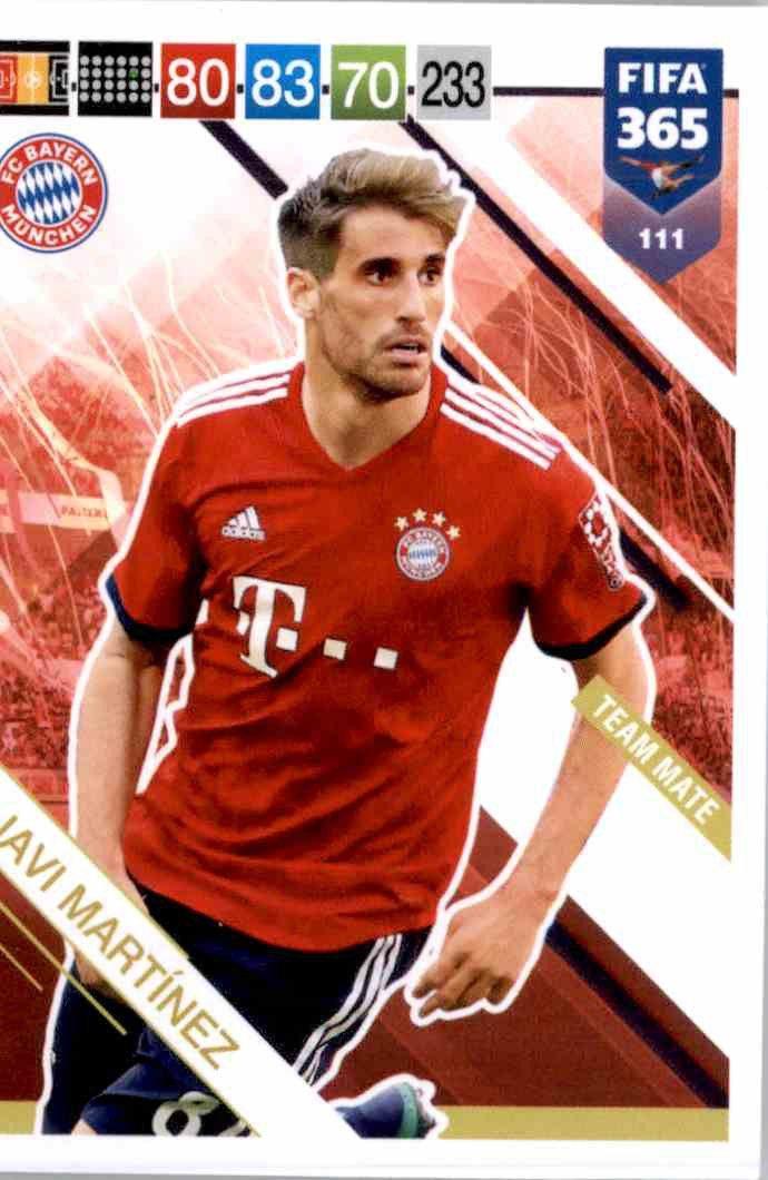 Panini Fifa 365 ADRENALYN XL 2018-FC Bayern Munchen