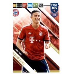 James Rodríguez Bayern München 115 FIFA 365 Adrenalyn XL