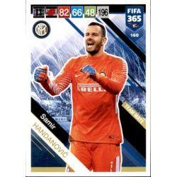 Samir Handanovič Internazionale 160 FIFA 365 Adrenalyn XL