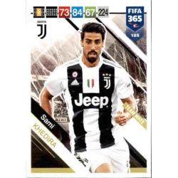 Sami Khedira Juventus 185 FIFA 365 Adrenalyn XL