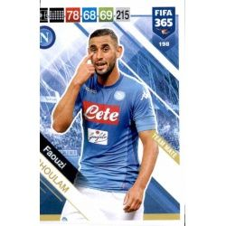 Faouzi Ghoulam SSC Napoli 198FIFA 365 Adrenalyn XL