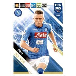 Piotr Zieliński SSC Napoli 202 FIFA 365 Adrenalyn XL