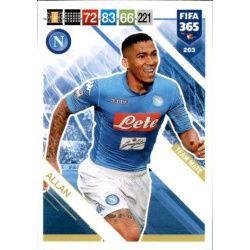 Allan SSC Napoli 203 FIFA 365 Adrenalyn XL