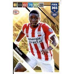Steven Bergwijn PSV Eindhoven Rising Star 224 FIFA 365 Adrenalyn XL