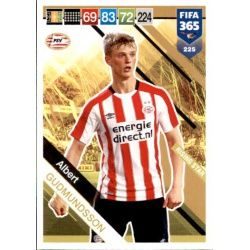 Albert Gudmundsson PSV Eindhoven Rising Star 225 FIFA 365 Adrenalyn XL