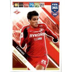 Lorenzo Melgarejo Spartak Moskva 258 FIFA 365 Adrenalyn XL