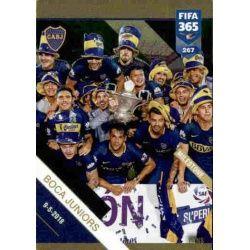 33rd Argentinian Title Boca Juniors Milestone 267