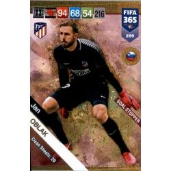 Jan Oblak Goal Stopper 299 FIFA 365 Adrenalyn XL