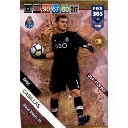Iker Casillas Goal Stopper 306 FIFA 365 Adrenalyn XL