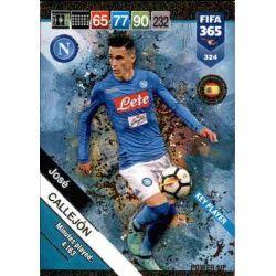 José Callejón Key Players 324 FIFA 365 Adrenalyn XL