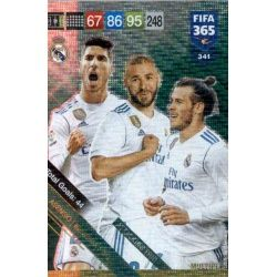 Real Madrid Attacking Trio 341