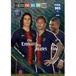 PSG Attacking Trio 342FIFA 365 Adrenalyn XL