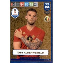 Toby Alderweireld FIFA World Cup Heroes 356 FIFA 365 Adrenalyn XL