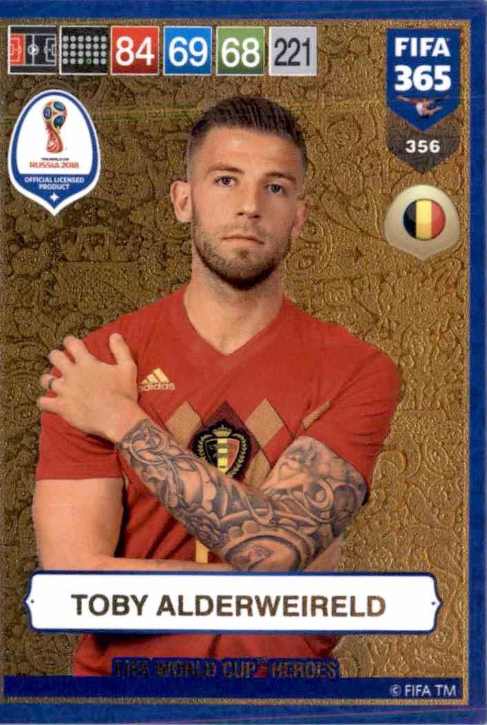 Fifa 365 Cards 2019-356 FIFA World Cup Heroes Toby Alderweireld