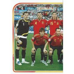 Eurocopa 2008 Alineación 1 - 3