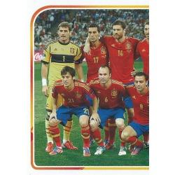 Eurocopa 2012 Alineación 1 - 5