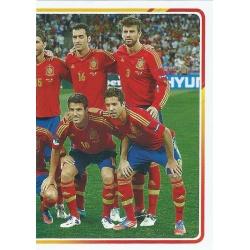 Eurocopa 2012 Alineación 2 - 6