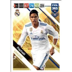 Raphaël Varane Real Madrid 71FIFA 365 Adrenalyn XL