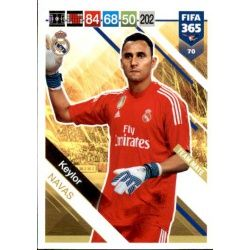 Keylor Navas Real Madrid 70FIFA 365 Adrenalyn XL