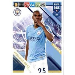 Fernandinho Manchester City 21 FIFA 365 Adrenalyn XL