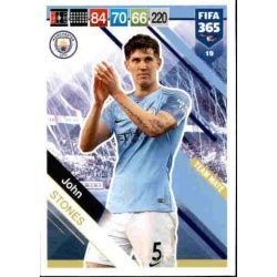 John Stones Manchester City 19 FIFA 365 Adrenalyn XL