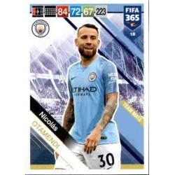 Nicolás Otamendi Manchester City 18