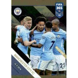 5th English Title Manchester City Milestone 15 FIFA 365 Adrenalyn XL